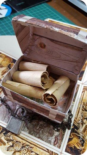 Добрый день Страна. Придумала коробочку  на  пиратскую тему на день рождения племяннику.    фото 8