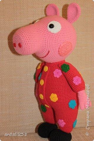 Свинка Пеппа в пижамке. фото 1