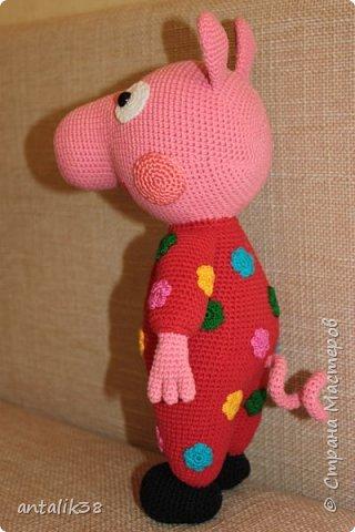 Свинка Пеппа в пижамке. фото 3