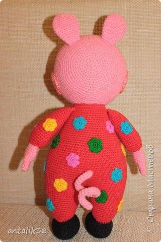 Свинка Пеппа в пижамке. фото 2