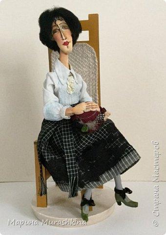 Заинтересовали женские образы Амедео Модильяни...решила попробовать. фото 2
