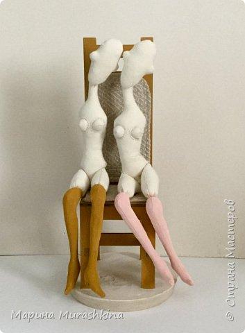 Заинтересовали женские образы Амедео Модильяни...решила попробовать. фото 6