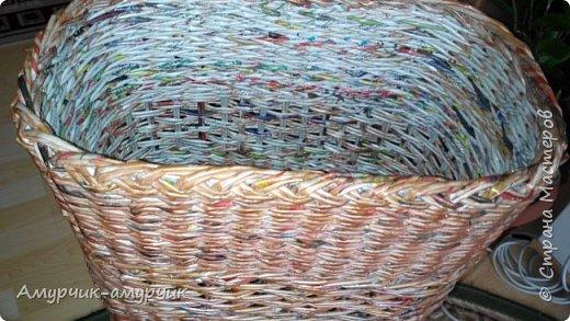 Карзина для белья  плетеная фото 5