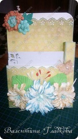 Здравствуйте соседи! Заказная открыточка на юбилей, вот такая получилась.  фото 2