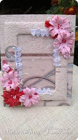 Приветствую Вас, соседи! Рамочки для фото всегда будут украшением интерьера и приятным, милым подарком. Хочу показать вам фото рамочки которые я сделала за последнее время. Приятного просмотра. фото 10