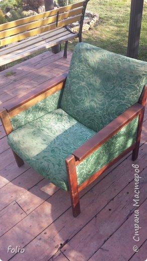 Честно говоря ожидала большего. Но у меня была цель, сделать мебель однотипную. Одинаковые стулья... одинаковые кресла Кому интересно, стулья вот здесь http://stranamasterov.ru/node/941866 фото 2