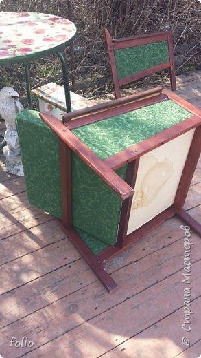 Честно говоря ожидала большего. Но у меня была цель, сделать мебель однотипную. Одинаковые стулья... одинаковые кресла Кому интересно, стулья вот здесь http://stranamasterov.ru/node/941866 фото 3