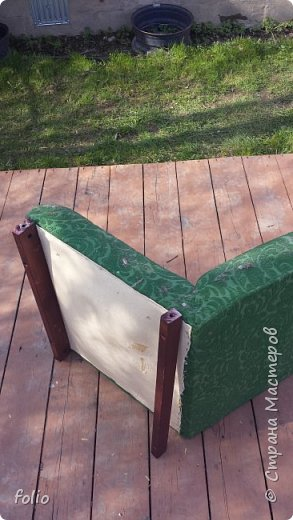 Честно говоря ожидала большего. Но у меня была цель, сделать мебель однотипную. Одинаковые стулья... одинаковые кресла Кому интересно, стулья вот здесь http://stranamasterov.ru/node/941866 фото 5