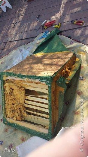 Честно говоря ожидала большего. Но у меня была цель, сделать мебель однотипную. Одинаковые стулья... одинаковые кресла Кому интересно, стулья вот здесь http://stranamasterov.ru/node/941866 фото 6
