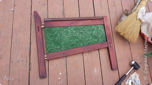 Честно говоря ожидала большего. Но у меня была цель, сделать мебель однотипную. Одинаковые стулья... одинаковые кресла Кому интересно, стулья вот здесь http://stranamasterov.ru/node/941866 фото 10