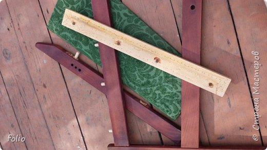 Честно говоря ожидала большего. Но у меня была цель, сделать мебель однотипную. Одинаковые стулья... одинаковые кресла Кому интересно, стулья вот здесь http://stranamasterov.ru/node/941866 фото 11
