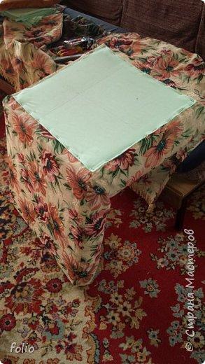 Честно говоря ожидала большего. Но у меня была цель, сделать мебель однотипную. Одинаковые стулья... одинаковые кресла Кому интересно, стулья вот здесь http://stranamasterov.ru/node/941866 фото 21