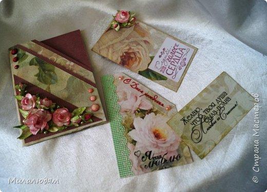 Всем здравствуйте! Сделала эту открытку давно, но до поездки выставить не успела. Это чистый лифтинг работы  ЛЮДямМИЛАя57  http://stranamasterov.ru/node/1038492. Это открыточка для любимой дочери на день рождения. Саше понравилась. фото 12