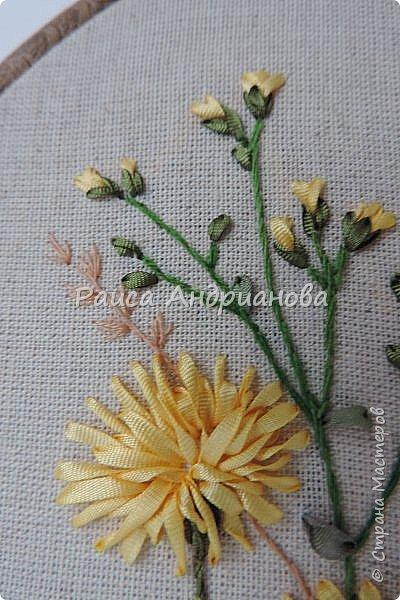 В работе использовала ленты из натурального и искусственного шелка. фото 2