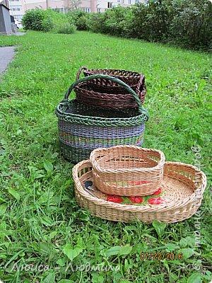 Всем здравствуйте! Пасмурное и дождливое лето сподвигло на плетение  - и вот что получилось. фото 1