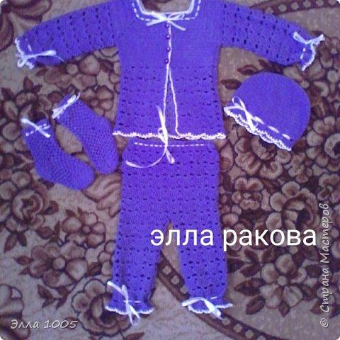 Набор для новорожденной фото 3