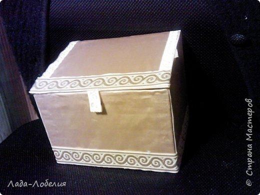 Хлам-декор, первая и единственная пока попытка. Маленькая коробочка. фото 13