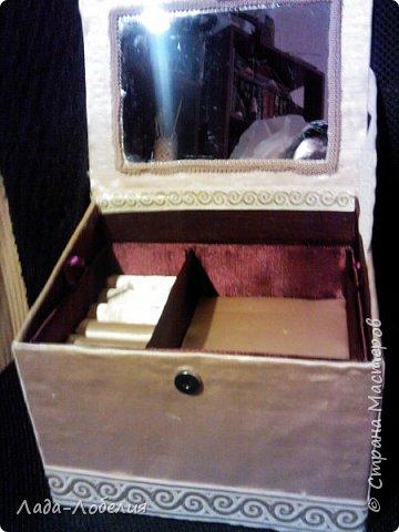 Хлам-декор, первая и единственная пока попытка. Маленькая коробочка. фото 15