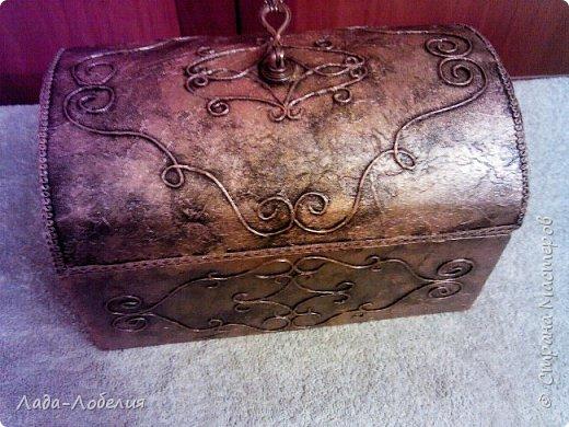 Хлам-декор, первая и единственная пока попытка. Маленькая коробочка. фото 19