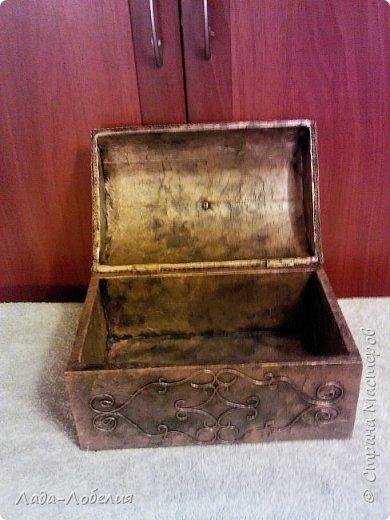 Хлам-декор, первая и единственная пока попытка. Маленькая коробочка. фото 20