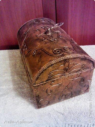 Хлам-декор, первая и единственная пока попытка. Маленькая коробочка. фото 21