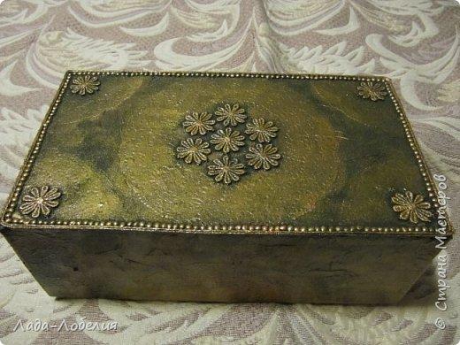 Хлам-декор, первая и единственная пока попытка. Маленькая коробочка. фото 5