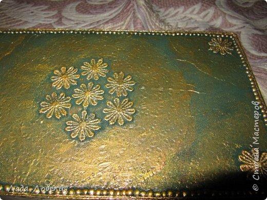Хлам-декор, первая и единственная пока попытка. Маленькая коробочка. фото 6