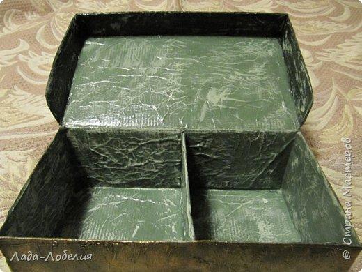 Хлам-декор, первая и единственная пока попытка. Маленькая коробочка. фото 7