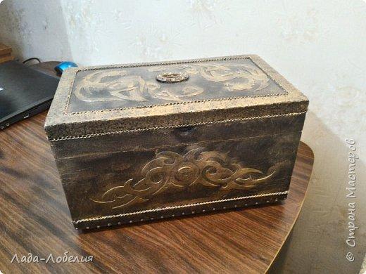 Хлам-декор, первая и единственная пока попытка. Маленькая коробочка. фото 27