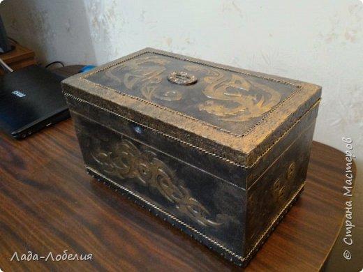 Хлам-декор, первая и единственная пока попытка. Маленькая коробочка. фото 28