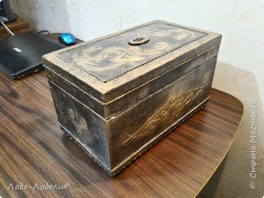 Хлам-декор, первая и единственная пока попытка. Маленькая коробочка. фото 29