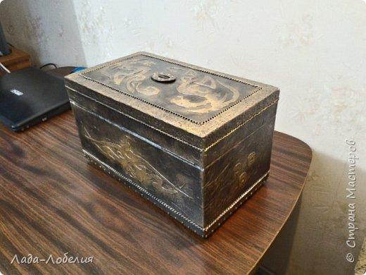 Хлам-декор, первая и единственная пока попытка. Маленькая коробочка. фото 30