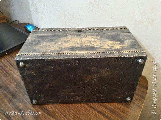 Хлам-декор, первая и единственная пока попытка. Маленькая коробочка. фото 33