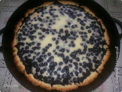 Пирог из черники фото 1