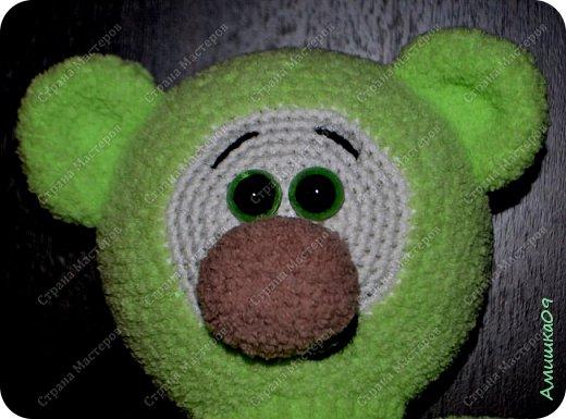 Автор игрушки Удальчикова Светлана Связан из Ализе Софти крючком № 3 Рост 27 см  фото 3