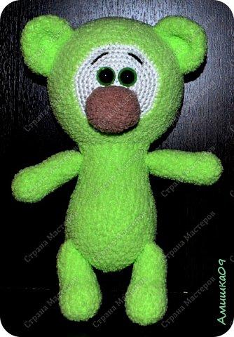 Автор игрушки Удальчикова Светлана Связан из Ализе Софти крючком № 3 Рост 27 см  фото 1