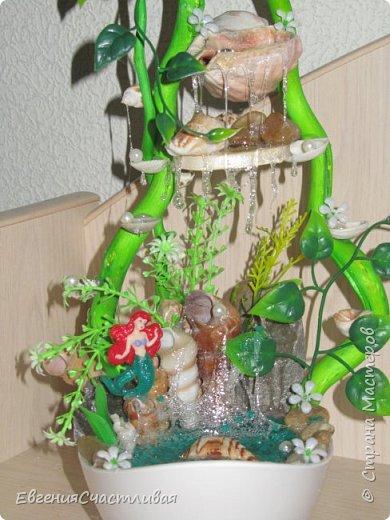 """""""ГНОМ-ПОДСОЛНУХ""""- использованы, сизаль 3 оттенков, искусственные цветы-подсолнух,  искусственные желуди, искусственные грибы, керамическая кашпо, спил оливы, декор металлический фото 17"""