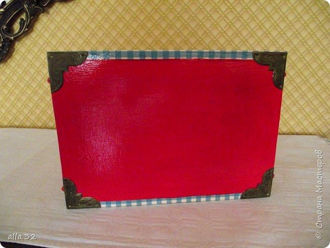 Коробулька. (В работе использовала салфетки,распечатки,акриловые краски и яхтенный лак). фото 5
