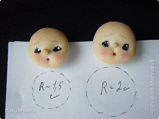 Лучший способ сделать личико для ватной игрушки - воспользоваться МК Ольги Симаковой  http://stranamasterov.ru/node/978317?c=favorite Но если у вас нет подходящей куколки? Помочь может обычный контейнер из-под бахил. Итак..  фото 13