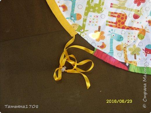 Идея коврика-мешка для игрушек честно стырена мною из просторов интернета. Но показалась довольно интересной=)  фото 4