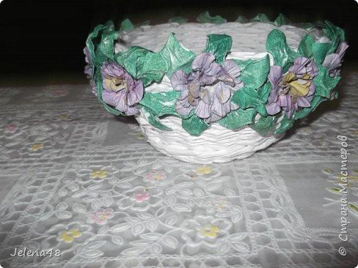 Конфетница с цветочками  фото 1