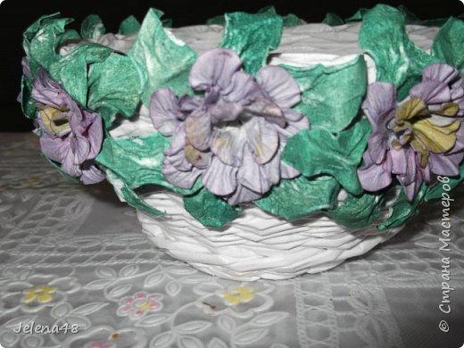 Конфетница с цветочками  фото 2
