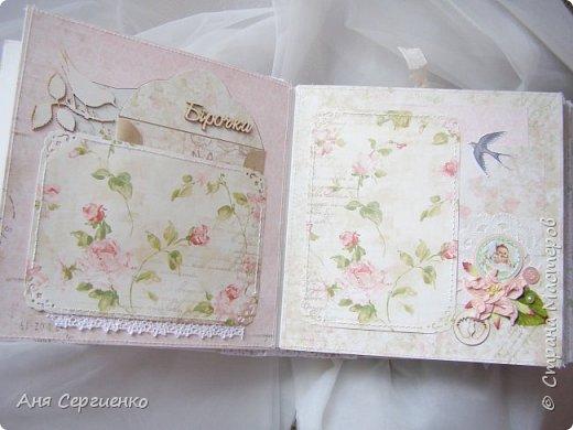 Нежный весенний скрап альбом для девочки фото 4