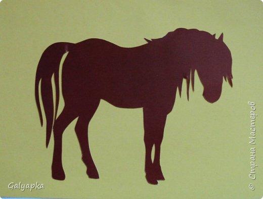 Моё самое любимое животное.  Вырезала с огромным удовольствием. Жаль что не все удалось сфотографировать на память. Потому что в тот (2014) год я их вырезала много: на работу, тетушке, ее соседке, коллеге по работе и себе. Этого жеребенка подарила тетушкиной соседке. Все шаблоны из инета и СМ. Всегда мечтала прокатиться на лошади, но так как я живу в деревне где лошадей не разводят, то мечта так и останется красивой мечтой. фото 4