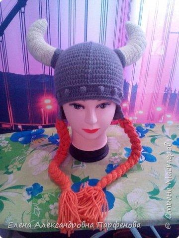 Мои необычные  шапульки, весна-осень. фото 1