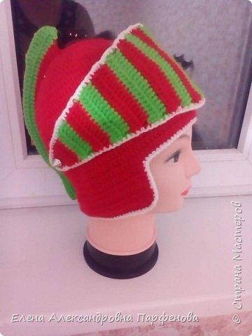 Мои необычные  шапульки, весна-осень. фото 3