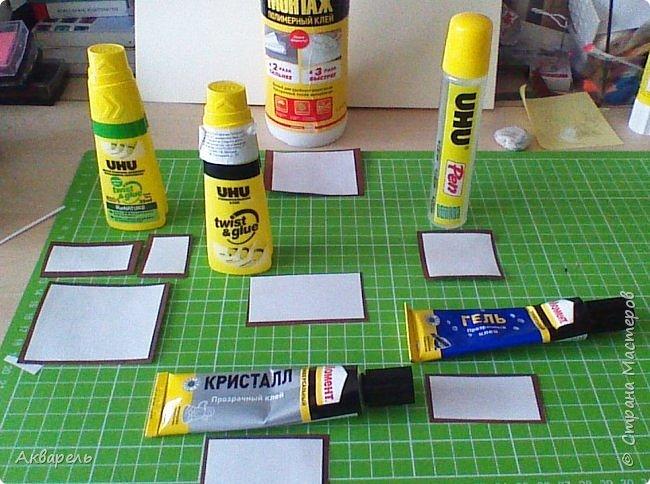 Клеи которыми я пользуюсь, в основном клеями UHU.  фото 1