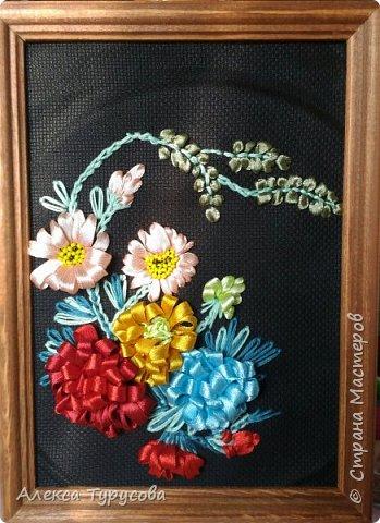Собрала микс цветочный,хотелось попробовать разные цветы сделать. фото 1