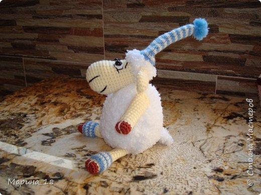 """Моя самая свежая авторская игрушка Волк из мульта """"Жил-был Пёс"""".  Сидя 40 см. фото 11"""