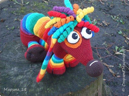 """Моя самая свежая авторская игрушка Волк из мульта """"Жил-был Пёс"""".  Сидя 40 см. фото 19"""
